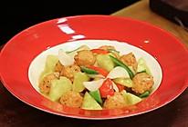 《回家吃饭》菠萝咕咾虾球的做法