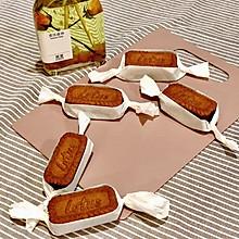 焦糖饼干可可布朗尼