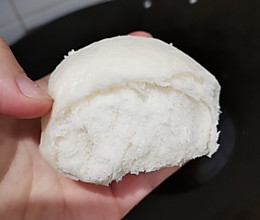 宝宝辅食篇.奶香淮山馒头的做法