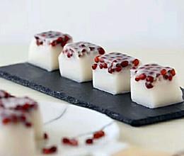 椰香红豆糕的做法