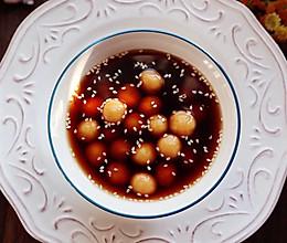 红薯糯米红糖小汤圆的做法