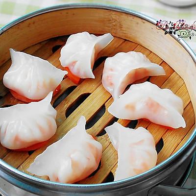 水晶虾饺--晶莹剔透的精致粤式点心