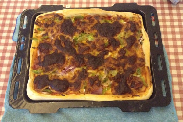 Square pizza的做法