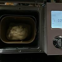 麦穗脆皮肠面包,冷藏法的柔软面包的做法图解4