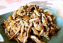 蚝油菌菇的做法