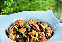 家常小鸡炖蘑菇的做法
