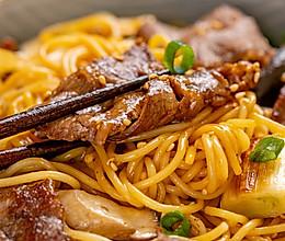 寿喜烧牛肉意面   鲜香嫩滑的做法