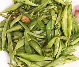 清炒刀豆的做法