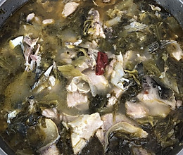 手残版----酸菜鱼的做法