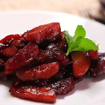 苹果红酒炖猪排—迷迭香