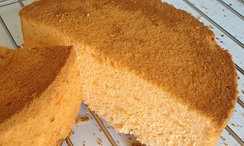 西红柿戚风蛋糕的做法