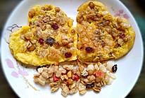 水果麦片煎蛋的做法