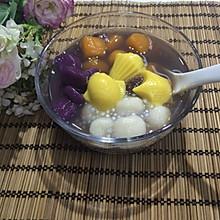 全手工芋圆红豆汤