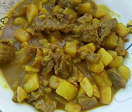 咖喱牛肉土豆的做法