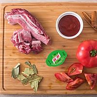 西红柿炖牛腩的做法流程详解1