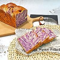 手撕紫薯吐司(一次发酵无需出膜)的做法图解19