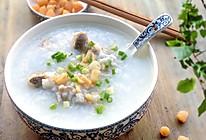广东的一道降火,补钙名粥------瑶柱咸骨粥的做法