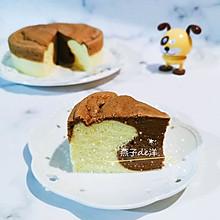 【蒸】双色可可蒸蛋糕
