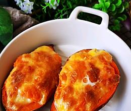 #我要上首焦#芝士焗红薯的做法