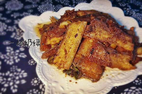 #菁选酱油试用之香酥带鱼的做法