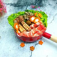 海鲜牛肉火锅#竹木火锅,文艺腹兴#