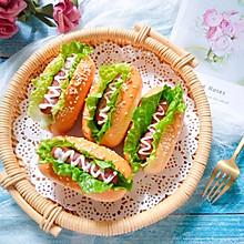 #精品菜谱挑战赛#香肠生菜面包