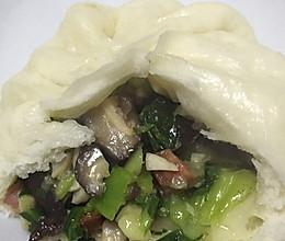 香菇菜包的做法