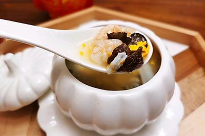 海参虾仁海鲜汤