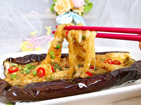 #父亲节,给老爸做道菜#蒜蓉烤茄子的做法
