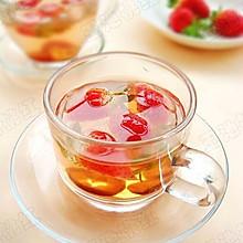 草莓山楂消脂茶