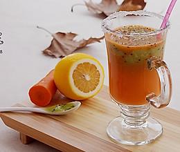 奇异果胡萝卜果泥汁 【排毒养颜】的做法