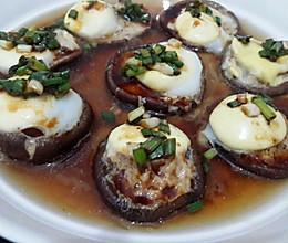 蘑菇蒸鹌鹑蛋的做法