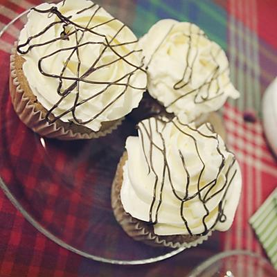 白咖啡cup cake        纸杯蛋糕