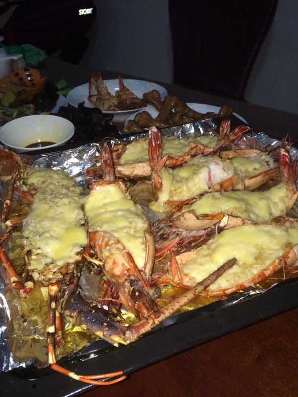 蒜蓉芝士焗大虾或龙虾的做法