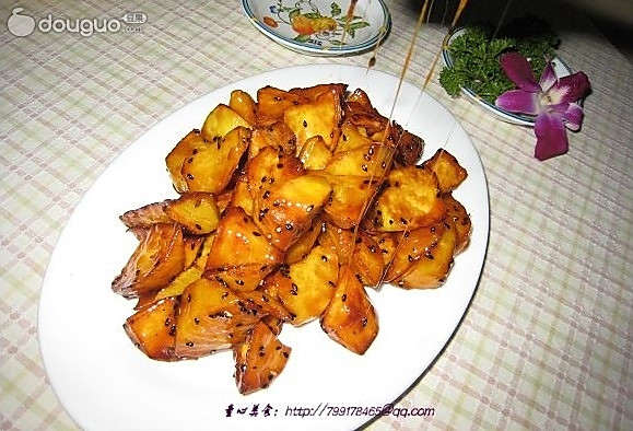 拔丝红薯-美丽厨娘的做法