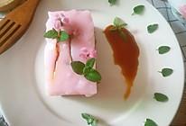 樱花红豆羊羹的做法