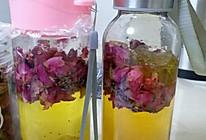 玫瑰花薰衣草养颜醋的做法
