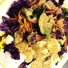 豆腐蔬菜沙拉