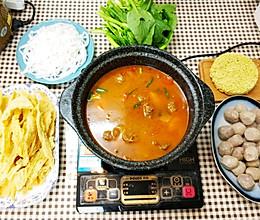 砂锅牛腩煲火锅的做法