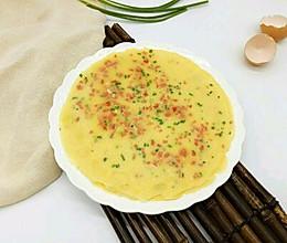 快手营养早餐-鸡蛋饼#柏翠辅食节-营养佐食#的做法