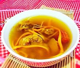 立冬补肾--红参猪尾虫草汤的做法