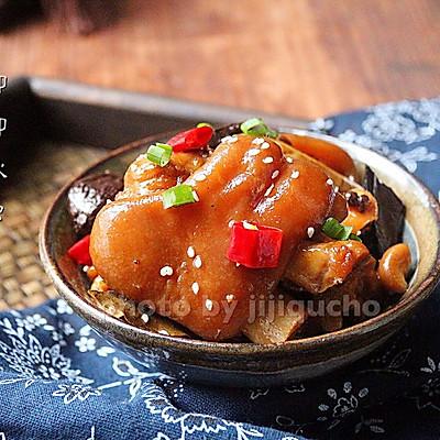 五香焖猪蹄