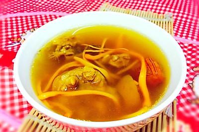 立冬补肾--红参猪尾虫草汤