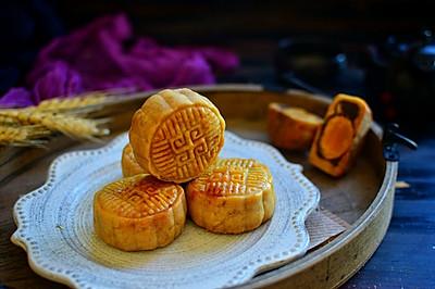 广式蛋黄豆沙月饼#美的FUN烤箱·焙有FUN儿#