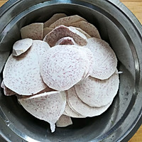外酥里糯的芋头猪肉丸子(原创)的做法图解2