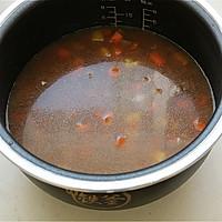 土豆牛肉胡萝卜焖饭#铁釜烧饭就是香#的做法图解9