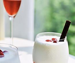 #轻饮蔓生活#蔓越莓思慕雪(内附自制酸奶的方子)的做法