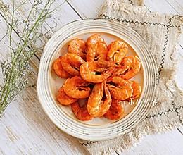吮指茄汁虾的做法
