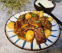 丰富餐桌味-韩式煎豆腐的做法