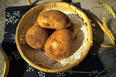 蒸的土豆–红糖鸡蛋馒头